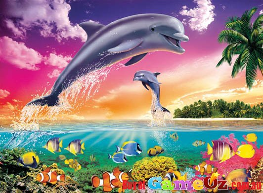 Dolphins Universe Ravensburger Jigsaw Puzzle 300pc