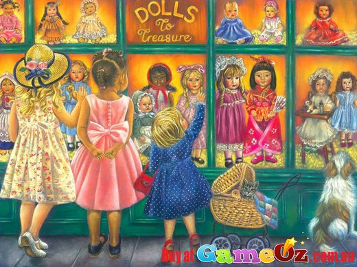Dolls To Treasure Sunsout Jigsaw Puzzle 1000pc By Tricia
