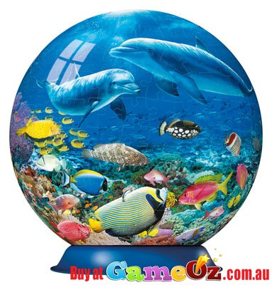 Sea Magic Ravensburger Puzzleball 3d Jigsaw Puzzle 270 Pieces