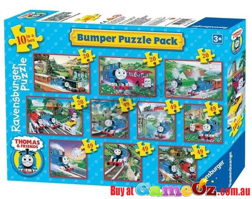 Thomas And Friends Bumper Puzzler Box Of 10 Ravensburger
