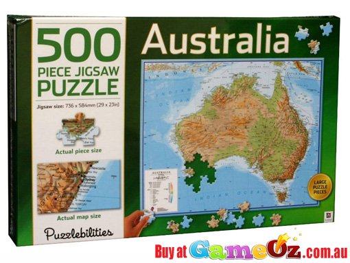 Australia map jigsaw puzzle 1000 piece by hinkleraustralia map australia map jigsaw puzzle 1000 piece by hinkleraustralia map jigsaw puzzle 500 piece by hinkler gumiabroncs Images