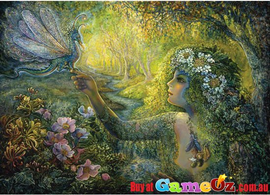 Josephine Wall The Dryad And Dragonfly Holdson Jigsaw