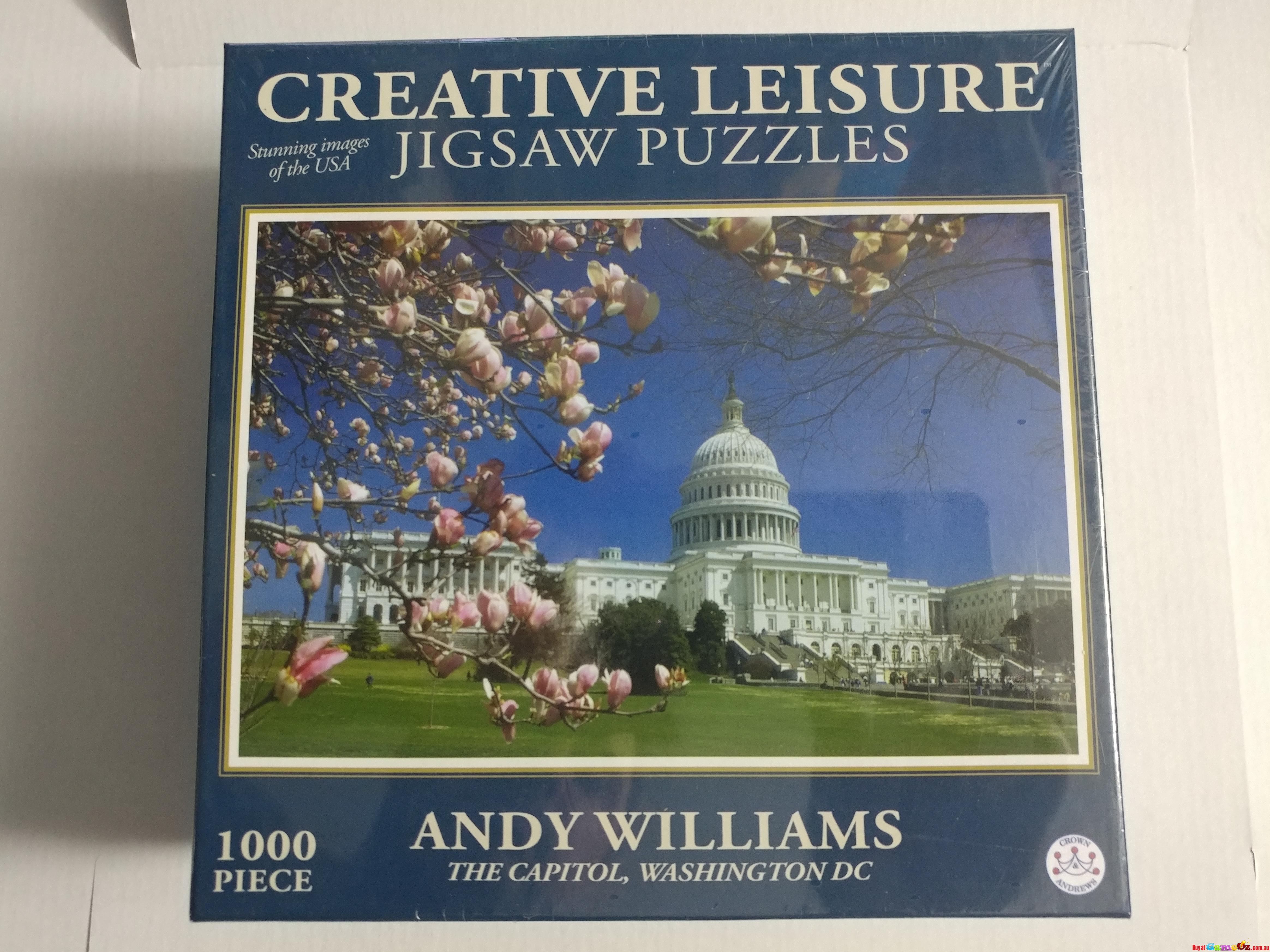 The Capitol Washington DC - Andy Williams - 1000 Piece Jigsaw Puzzle