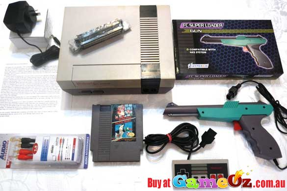 Nintendo Home Entertainment System With Duck Hunt