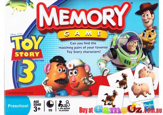 Toy Story 1 Games : Disney pixar toy story memory game