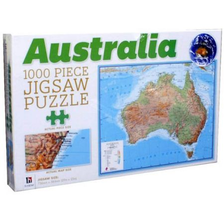 Australia Map Jigsaw.Australia Map Jigsaw Puzzle 1000 Piece By Hinkler