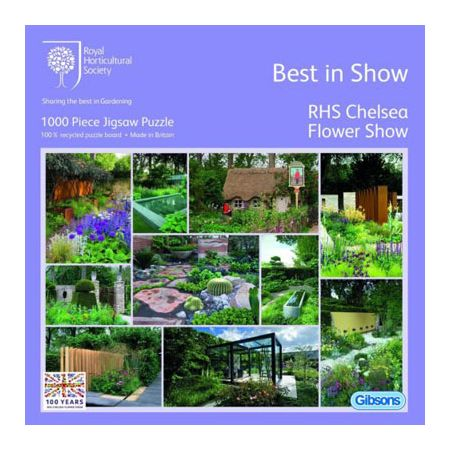 best in show gibsons jigsaw puzzle 1000 piece rhs chelsea