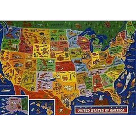 United States of America Jigsaw Puzzle 500pc by JR Jigsaws