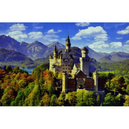 clementoni neuschwanstein jigsaw puzzle 6000 piece. Black Bedroom Furniture Sets. Home Design Ideas