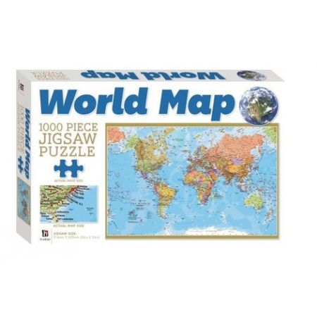 World map hinkler 1000 piece puzzle save 25 gumiabroncs Image collections