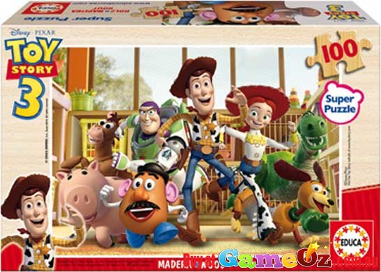 Educa Super Jigsaw Puzzle 100pc Toy Story 3