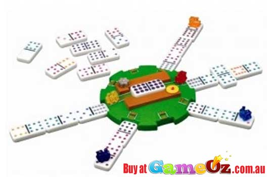 Mexican Train Game With Electronic Game Hub By Fundex