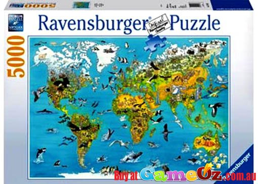 Fascinating earth ravensburger jigsaw puzzle 5000 pieces save 30 gumiabroncs Images