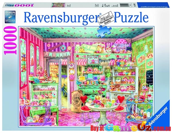 ravensburger 1000 piece jigsaw puzzle the candy shop. Black Bedroom Furniture Sets. Home Design Ideas