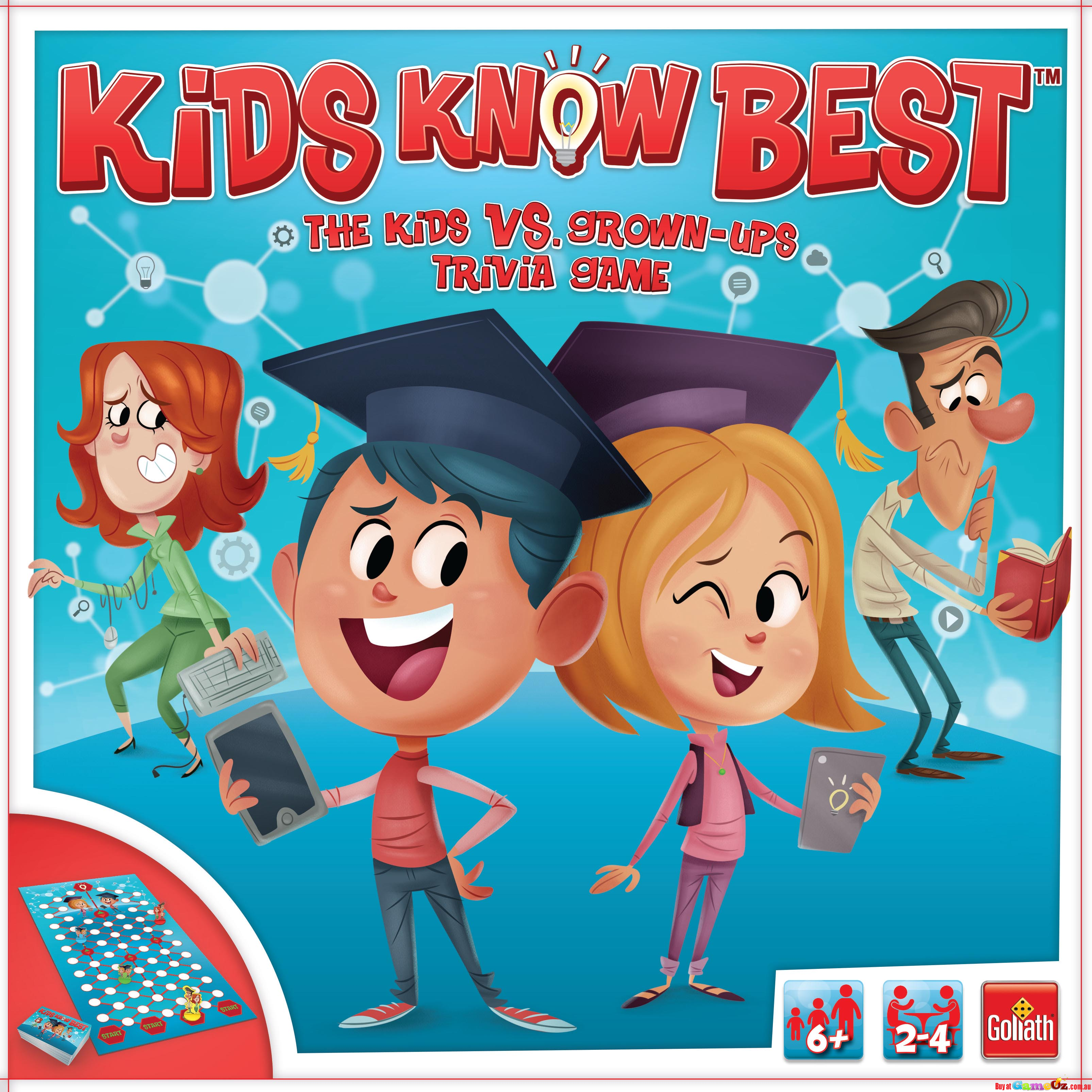 Kids Know Best - Board Game - Goliath Games