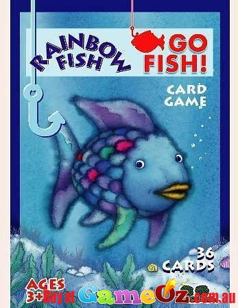 Rainbow fish go fish card game for Go fish games